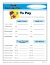 Verb Conjugation: To Pay