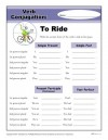Verb Conjugation: To Ride