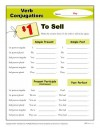 Verb Conjugation: To Sell