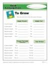 Verb Conjugation: To Grow