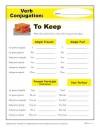 Verb Conjugation: To Keep