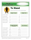 Verb Conjugation: To Stand