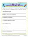 Conjunctions Worksheet: Connecting Predicates