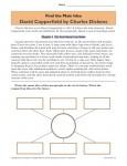 Printable Main Idea Worksheet Activity - David Copperfield
