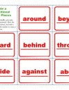 Create a Prepositional Phrase: Places