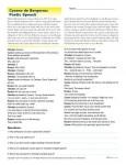 Printable Poetry Reading Comprehension Worksheet - Cyrano de Bergerac Poetic Speech