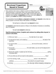 Directional Prepositions - Free, Printable Worksheet Activity