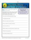 Double Negatives Worksheets
