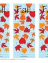 Fall Printable Bookmarks
