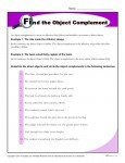 Find the Object Complement - Printable Reading Skills Worksheet