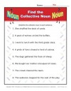 Collective Noun Worksheets - Find the Collective Noun