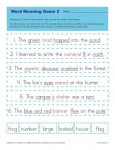 Printable Word Meaning Game