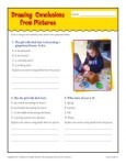 Drawing Conclusions from Pictures - 4th and 5th Grade Worksheet Activity