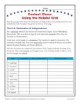 4th and 5th Grade Context Clues Worksheet - Using a Helpful Grid