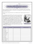 Printable Reading Activity - Finding Meaning In Context