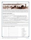 Middle School Context Clues Worksheet Activity