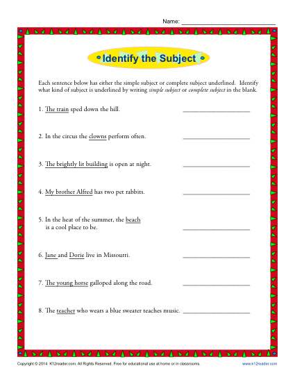 Simple and Complete Worksheet