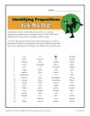 Printable Identifying Prepositions Worksheet - Kick One Out!