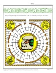 Hispanic Heritage Month - Mayan Maze Activity