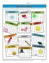 New Year's Calendar Maze