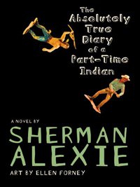 The Diary of a Part-time Indian book cover
