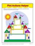 Printable Plot Action Helpers Worksheet