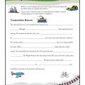 Progressive Story Adverb Clauses Worksheet