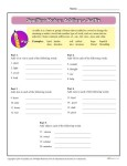 Printable Spelling Rules Worksheet - Adding a Suffix