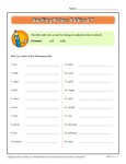 Printable Spelling Rules Worksheet - Adding LY