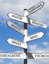 Interrogative Pronouns – To Whom Do They Matter?