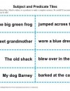 Subject and Predicate Activity Tiles