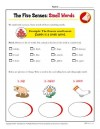 The Five Senses Words Activity: Smell