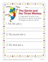 The Genie and the Three Wishes Writing Prompt