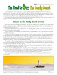 The Road to Oz: The Deadly Desert Worksheet Activities