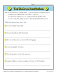 Punctuation Worksheet - Practice Using the Slash