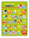 Printable Block Upper and Lowercase Letters