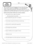 Using Metaphors - Printable Worksheet Activity to Practice Figurative Language