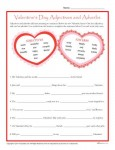 Valentine's Day Printable Activity - Adjectives and Adverbs