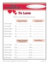 Verb Conjugations: To Love
