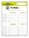 Verb Conjugations: To Wake