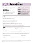 Future Perfect Verb Tenses Worksheet