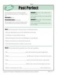 Verb Tenses Worksheet - Past Perfect