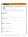 Verbals Worksheet Activity - Functions and Uses of Infinitives