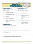 Printable Paradox Warm Up Activity for Class or Home