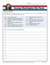 Printable Bio Poem Activity - George Washington