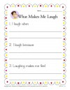 What Makes Me Laugh Writing Prompt