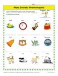Onomatopoeia Worksheet Practice Ativity
