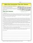 Write a Conclusion Paragraph about the U.S. Census