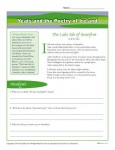 Yeats and the Poetry of Ireland - St. Patrick's Day Printable Worksheet